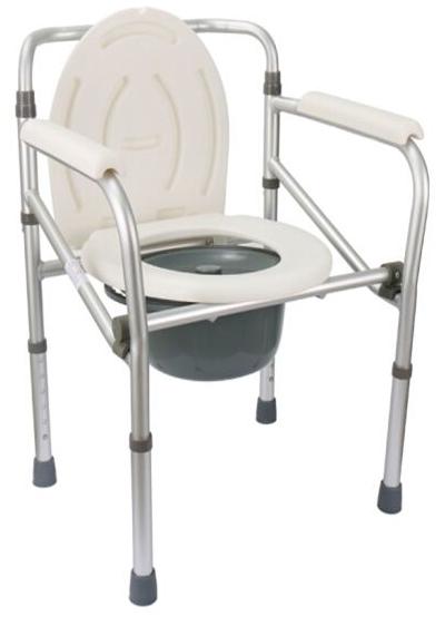 sedia comoda multifunzione 4 in 1 rialzo wc e sedile per doccia pieghevole in alluminio AnteaMed RAM Apparecchi Medicali